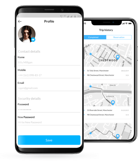 LynkCity Taxi Booking App